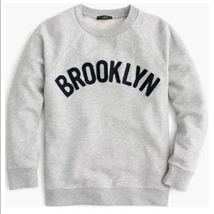 J Crew Brooklyn pullover sweatshirt